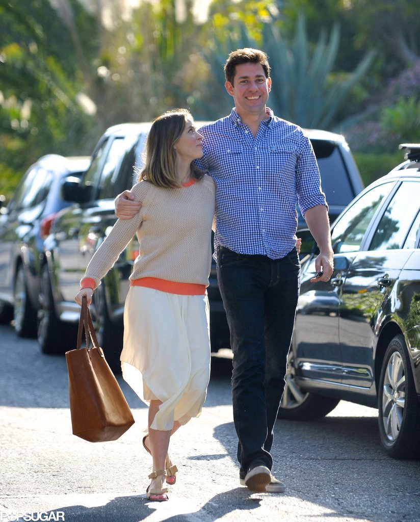 John Krasinski and Emily Blunt Have That Look of Love
