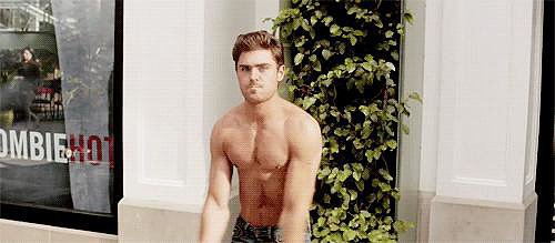 Feast Your Eyes on Zac Efron's Sexiest Shirtless GIFs