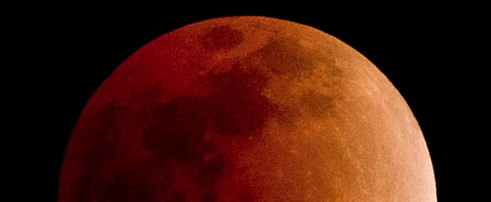 What's Black, White, and Red All Over? Tonight's Blood Moon