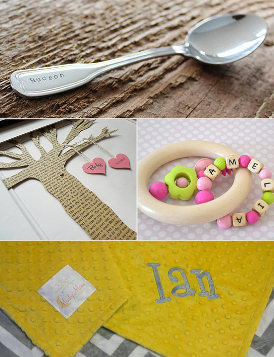 personalized baby shower gifts popsugar moms