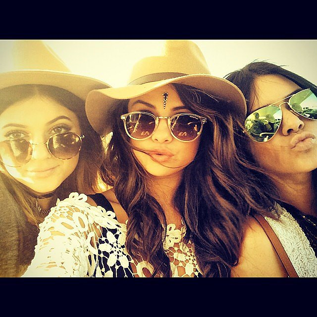 Selena Gomez got shady with Kendall and Kylie Jenner.  Source: Instagram user selenagomez
