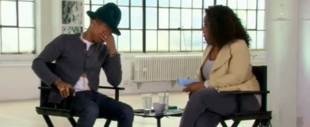 Pharrell Cries About His Success, and It's Really Sweet