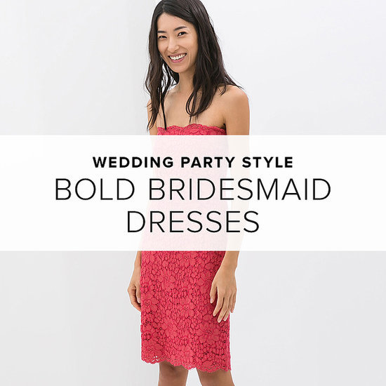 Spring's the Perfect Time For Bold and Bright Bridesmaid Dresses