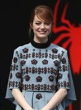Emma Stone's awesome European wardrobe for The Amazing Spider-Man 2
