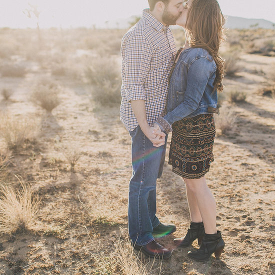 Tammy and Nadav's Desert and Dinosaurs Engagement
