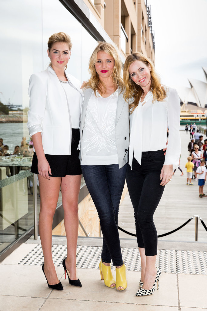 Kate Upton, Cameron Diaz, and Leslie Mann promoted The Other W