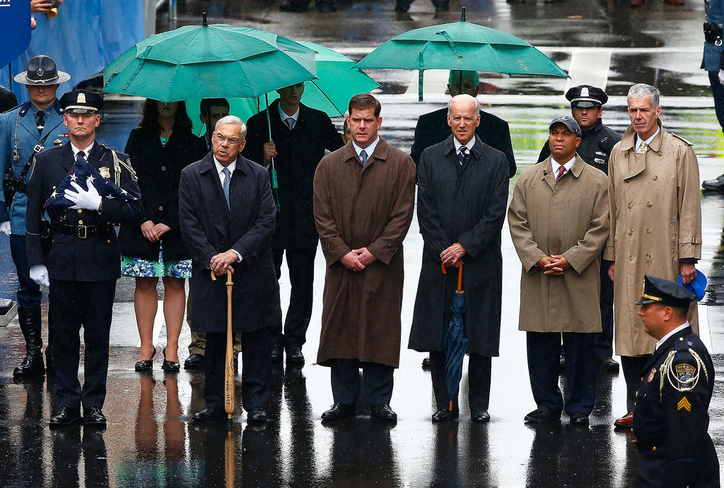 Vice President Joe Biden spoke at the one-year anniversary memorial.