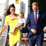 Prince William, Kate Middleton and George in Sydney Day 1