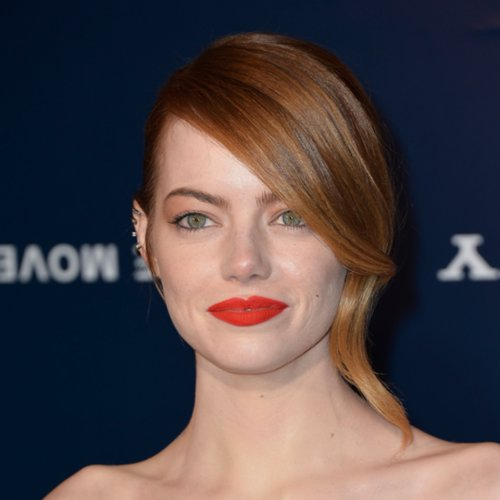 Celebrities Wearing Orange Lipstick 2014