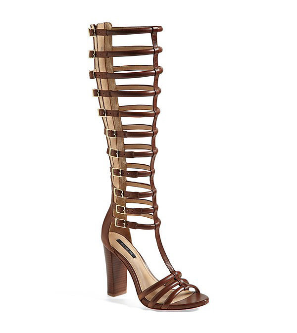 Rachel Zoe Knee-High Gladiator Sandals
