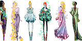 Disney Princess Outfits Just Got A High Fashion Makeover