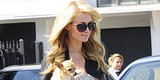 Paris Hilton's See-Through Purse Is Filled With ...