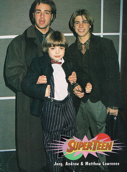In those years, Andy started joining Joey and Matthew at events.