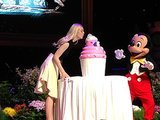Maleficent's Elle Fanning visits Disneyland for her sweet 16
