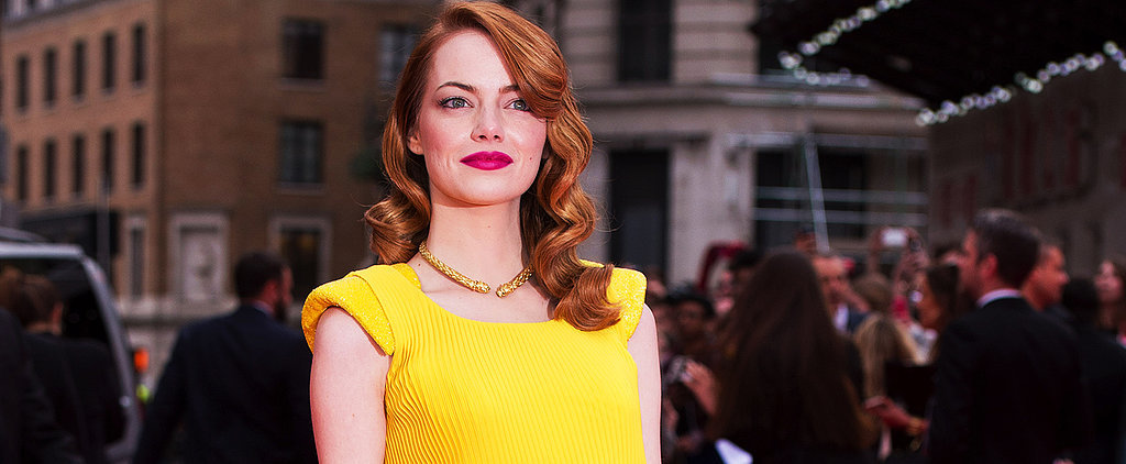 Emma Stone Officially Wins the Red Carpet — See Her Best Looks on POPSUGAR Live!