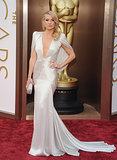 Kate Hudson in Silver Atelier Versace at 2014 Oscars