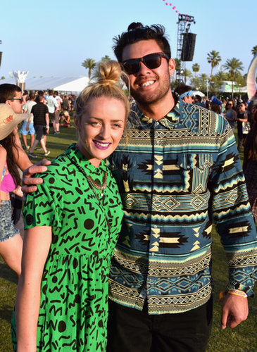 The couple that wears patterns together, stays together.