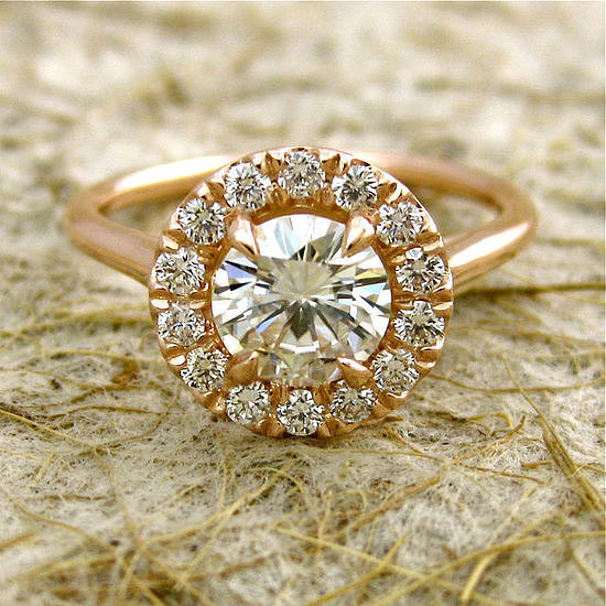 The engagement ring may be one of the biggest expenses of your wedding, and as with buying any big-ticket item, you need to do your homework. POPSUGAR Smart Living tapped Jerry Ehrenwald, the president of the International Gemological Institute, for some quick guidelines on what couples need to do when they're buying an engagement ring. Source: Etsy user AdziasJewelryAtelier