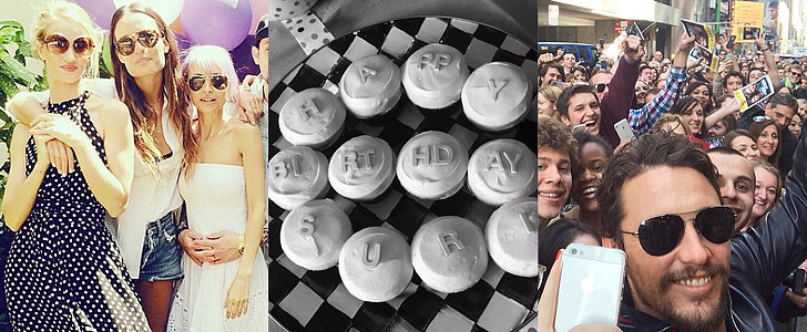 It's All About Birthdays in This Weekend's Best Celebrity Candids!