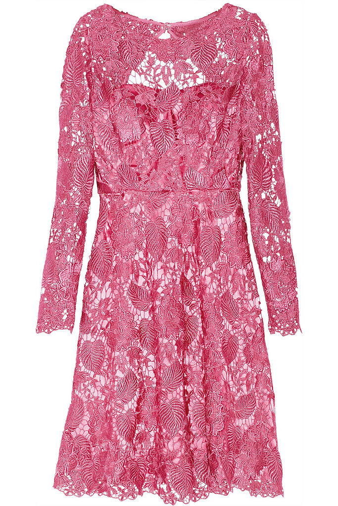 Mikael Aghal bright-pink lace dress ($280, originally $700)
