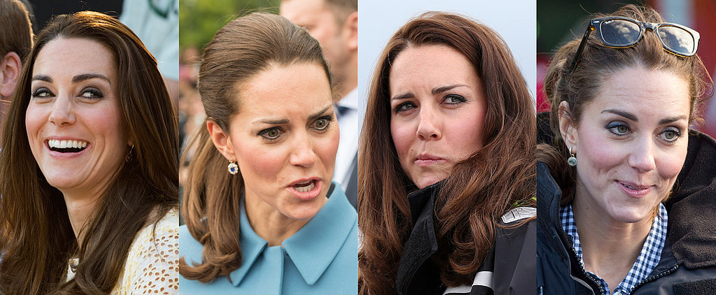 A Guide to Kate Middleton's Many Royal Tour Facial Expressions