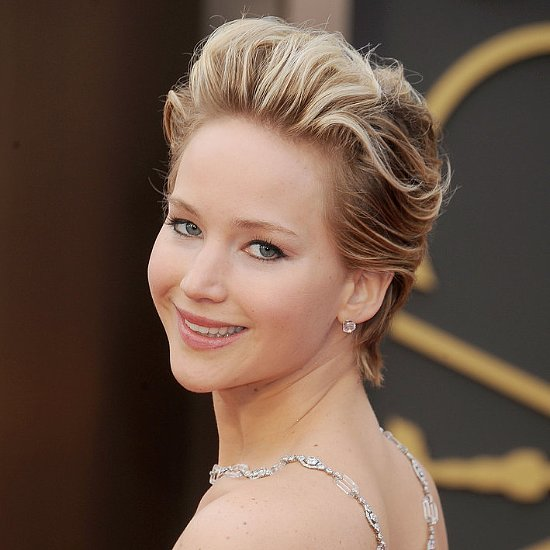 Jennifer Lawrence Growing Out Hair From Pixie to Bob