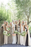 Matching Bridesmaids Dresses