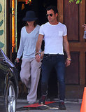 Jennifer Aniston Takes a Cake Break For Justin Theroux