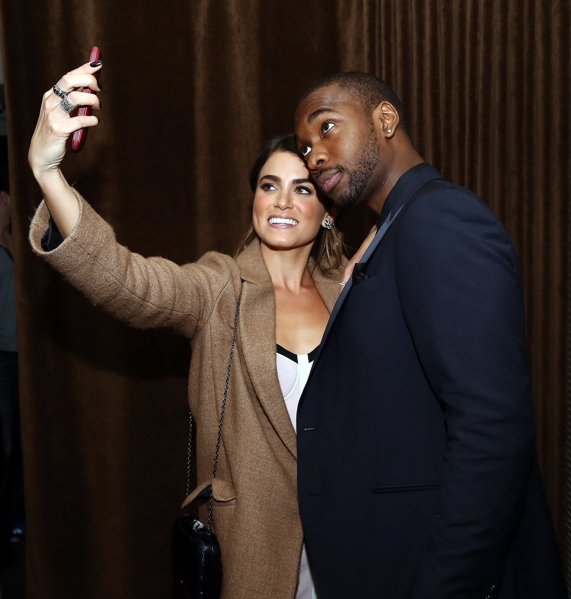 Nikki Reed and her Intramural costar Jay Pharoah took a photo at their Tribeca Film Festival after party in April 2014.