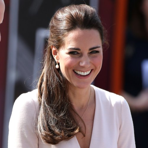 The Duchess of Cambridge Gets Behind the DJ Booth With Laid-Back Hair
