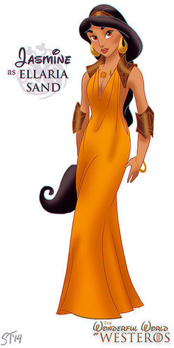 Jasmine as Ellaria Sand