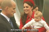 Hilarious Prince George gifs: Long live the king