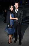 Courteney Cox snuggled up to her boyfriend, Johnny McDaid, at Vanity Fair's Tribeca party.