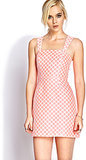 Forever 21 Pink Polka-Dot Dress