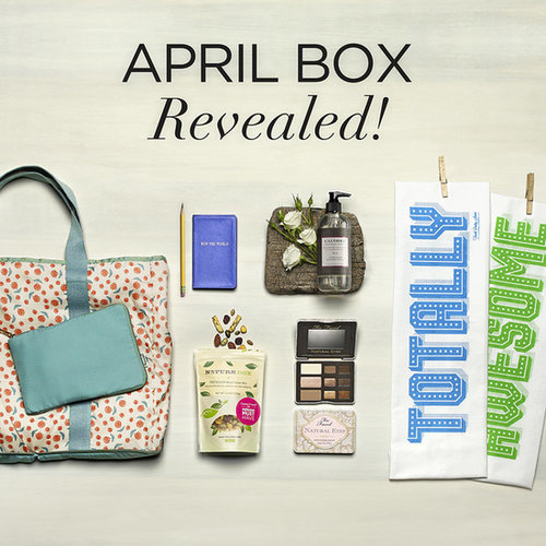 April 2014 POPSUGAR Must Have Box Contents