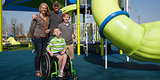 Boy, 10, Got Company To Build A Wheelchair-Friendly Playground So He And His Brother Could Play