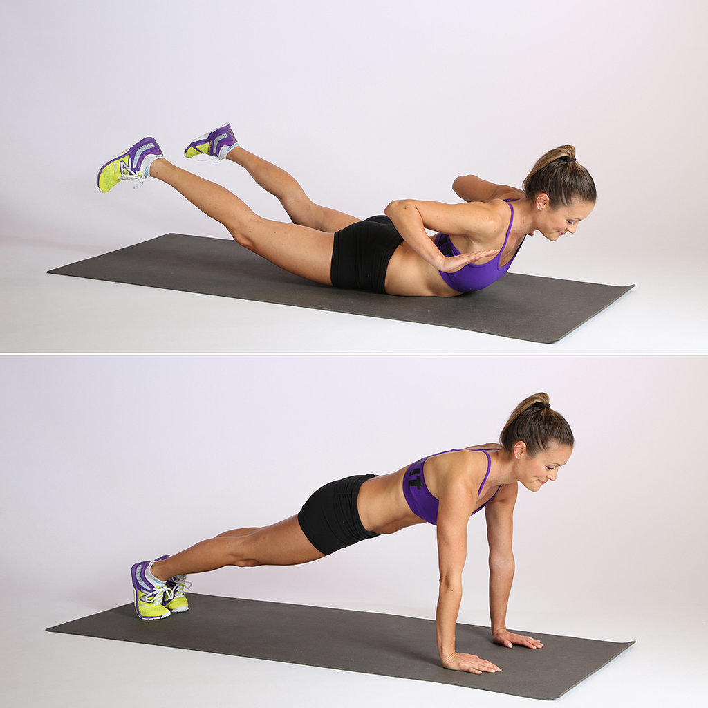Circuit Three: Superwoman Push-Up