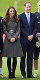 Kate Middleton at the FA National Centre of Football in 2012
