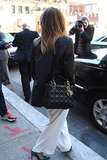 Sarah Hyland's Dior Bag in New York