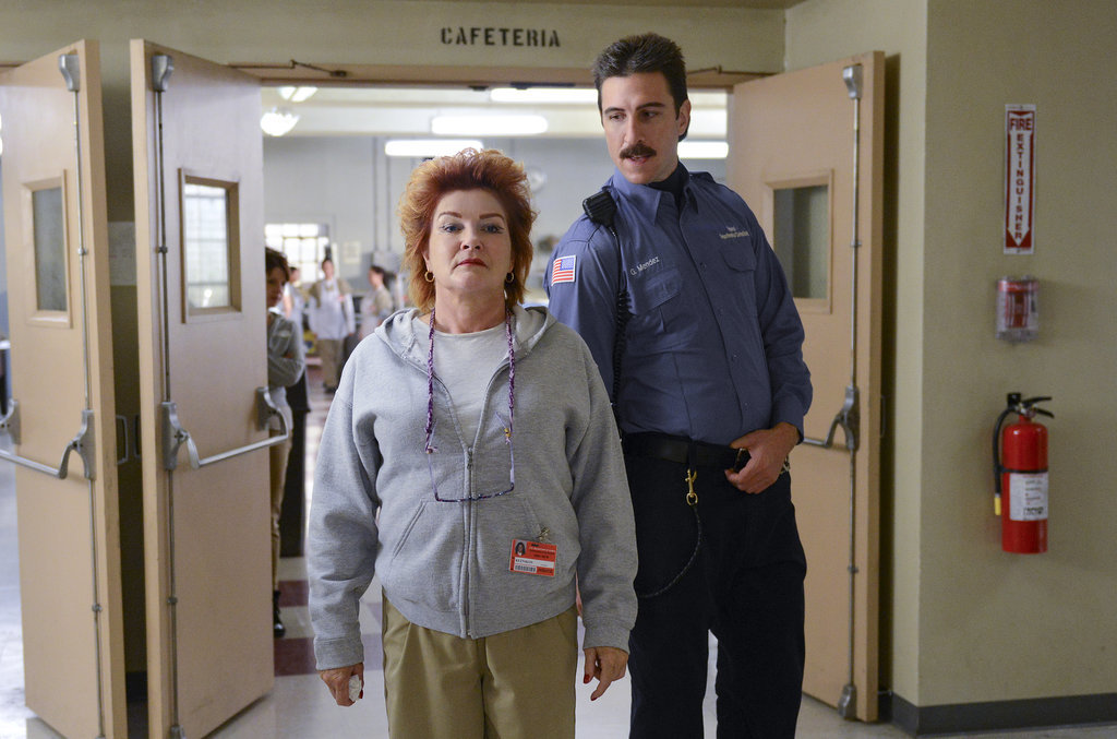 I cannot wait to catch up with Pornstache (Pablo Schreiber). Is he grabbing her butt? She will literally kill him. Source: Netflix