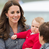 New Sibling? Prince George Is Not Impressed!