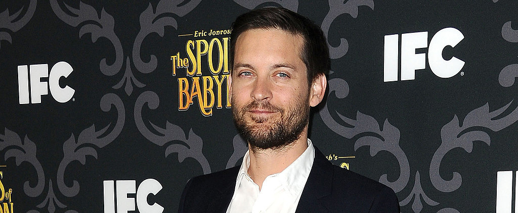 Tobey Maguire Has a Whole New Look