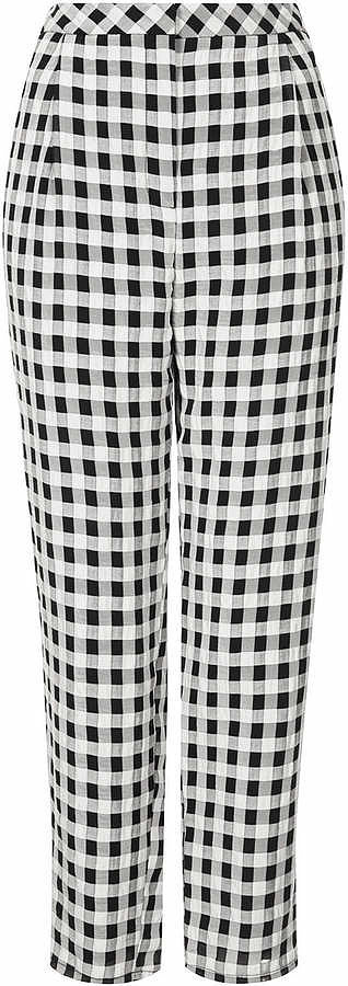 Topshop Gingham Pants