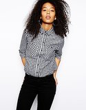 ASOS Gingham Button-Down Shirt