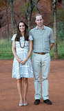 The Royal Couple in Ayers Rock