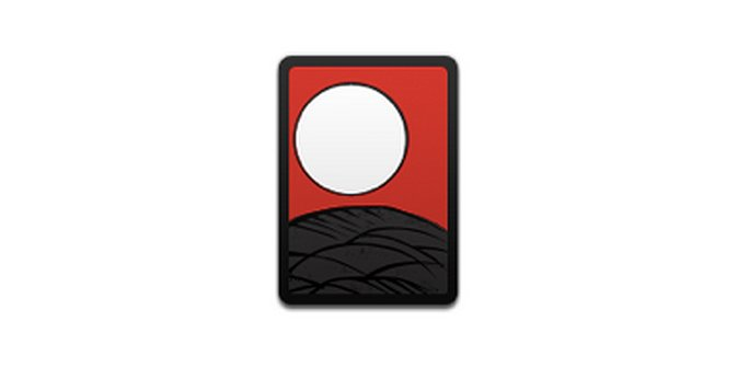 "Interpretation: ""The white sun is setting over the mountains."" Name + meaning: Flower Playing Cards. A deck of playing cards Emoji. This is of the top of the deck, with no card face showing. Also known as: Playing cards emoji; deck of cards emoji Source: Emojipedia"