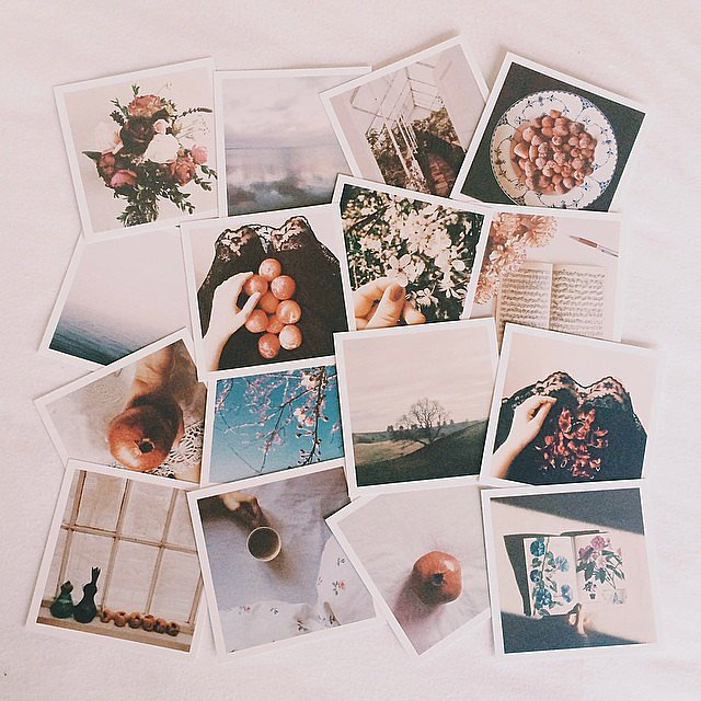 The people behind the Australian company Origrami definitely know how to make the best out of Instagram snaps. Order a package ($20 and up) of retro-style prints (yours or mom's) as a thoughtful Mother's Day gift. Most packages come with multiple design themes and a photo map.  Source: Instagram user minafagerlund