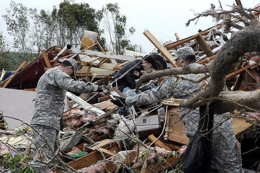 Shocking Photos of the Tornadoes' Devastating