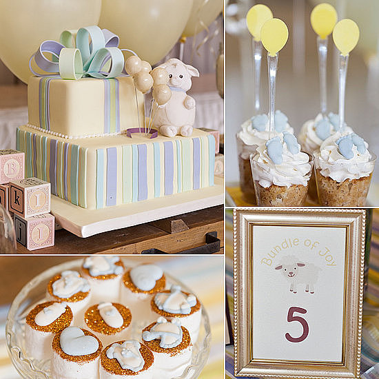 A Pretty, Pastel Baby Shower