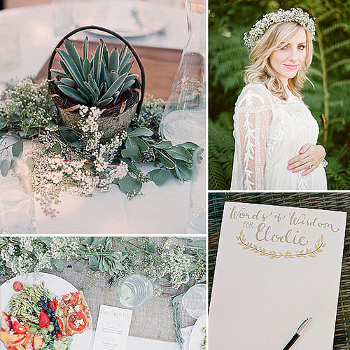 A Light and Airy Outdoor Baby Shower